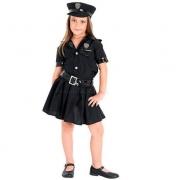 Fantasia Policial Feminino M - Sulamericana
