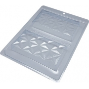 Forma Especial Para Chocolate Tablete Nuance 3D - BWB