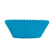 Forminha p/Mini Cupcake Azul Royal c/54 - Ultrafest