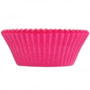 Forminha p/Mini Cupcake Rosa Pink c/54 - Ultrafest