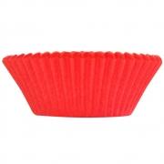 Forminha p/Mini Cupcake Vermelho c/54 - Ultrafest