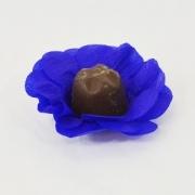 Forminha Para Doce Crepom Azul Escuro c/40 - Scaranelo