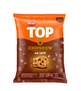Gotas forneável top chipshow ao leite 1,010kg