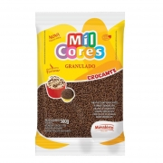 Granulado Crocante Chocolate 500g - Mil Cores