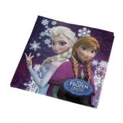 Guardanapo de Papel Folha Dupla 25x25  c/16 Frozen - Regina