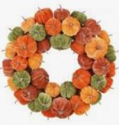 Guirlanda Decorativa Abóbora Halloween - Cromus