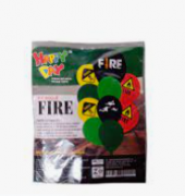 Kit Buquê Fire c/10 - Happy Day