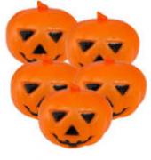 Kit Enfeite de Halloween Abóbora + Fantasminha
