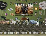 Kit Free Fire p/ Festa