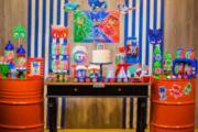 Kit PJ Masks p/ Festa