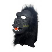Máscara Macaco Tecido c/Pelo - Spook