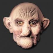 Máscara Velho - Spook