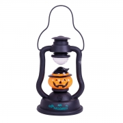 Mini Lampião de Led Decorativo de Abóbora
