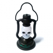 Mini Lampião de Led Decorativo de Caveira