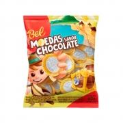 Moedas Sabor Chocolate 40g - Bel