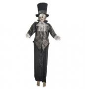 Noivo Cadáver Para Decoração De Halloween c/Luz 170cm - Matsumoto