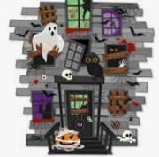 Painel 2 Laminas Decorativo Halloween - Cromus