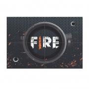 Painel 4 Laminas Decorativo Free Fire - Junco