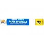 Papel Manteiga 7,5mx29cm - Wyda