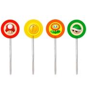 Pick Decorativo Super Mario c/12 - Cromus