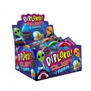 Pirulito Dip Loko Monsters Neon Alien c/30 300g - Danilla