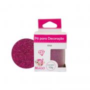 Pó Para Decoração 10g Pink - Mago