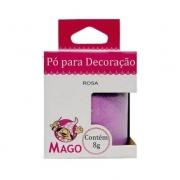 Pó Para Decoração 8g Rosa - Mago