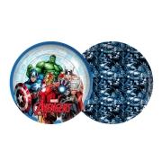 Prato 18cm Avengers c/12 - Regina