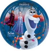 Prato 18cm Frozen c/12 - Regina