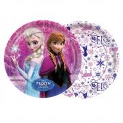 Prato 18cm Frozen c/8 - Regina