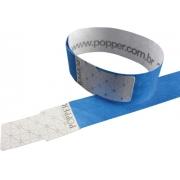 Pulseira de Identificação Para Festa Azul c/50 - Popper