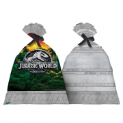 Sacola Plástica Decorativa Jurassic World c/8 - Festcolor