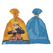 Sacola Plástica Decorativa Naruto c/8 - Festcolor
