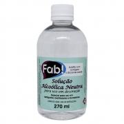 Solução Alcoólica Neutra 270ml - Fab