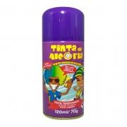 Spray para Cabelo Roxo 120ml - Tinta Da Alegria