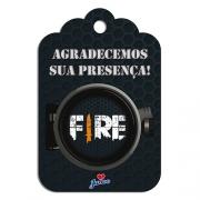 Tag De Agradecimento Free Fire c/8 - Junco