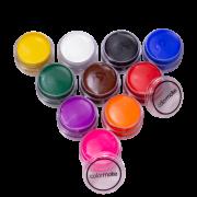 Tinta Maquiagem para Pele Cremosa c/10 - Color Make