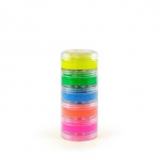 Tinta Maquiagem para Pele Cremosa Fluorescente c/5 - ColorMake