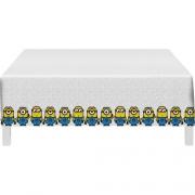 Toalha De Mesa Minions 1,20m X 1,80m - Festcolor