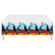 Toalha De Mesa Plástica Batman Geek 1,20m X 1,80m - Festcolor