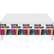 Toalha De Mesa Plástica Now United 1,20m X 1,80m - Festcolor