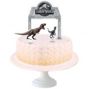 Topper Para Bolo Jurassic World - Festcolor
