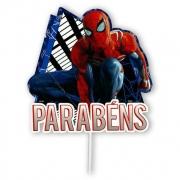 Topper Para Bolo Spider Man - Regina