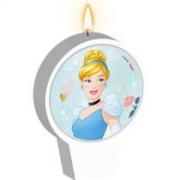 Vela de Aniversário Cinderela - Regina