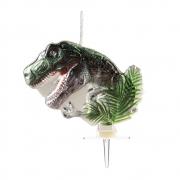 Vela de Aniversário Dinossauro - Silver Festas