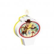 Vela de Aniversário Toy Story - Regina