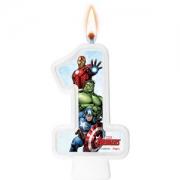 Vela Numeral Avengers Número 1 - Regina
