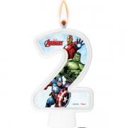 Vela Numeral Avengers Número 2 - Regina