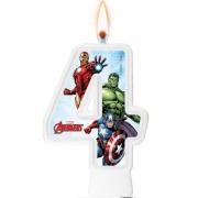 Vela Numeral Avengers Número 4 - Regina