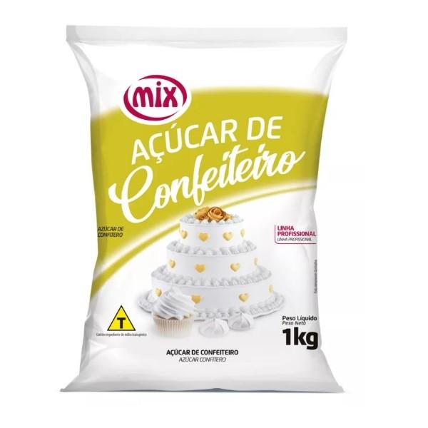 Açúcar Confeiteiro 1kg - Mix